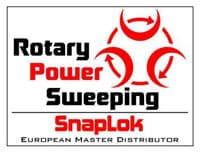Rotary Power Sweeping Logo